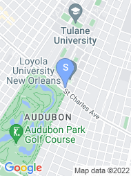 Loyola University New Orleans map