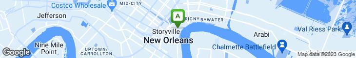 Map of Gumbo Shop