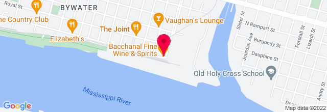 Map for Bacchanal Wine & Spirits