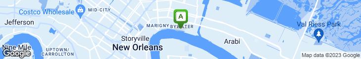 Map of Elizabeth's Restaurant
