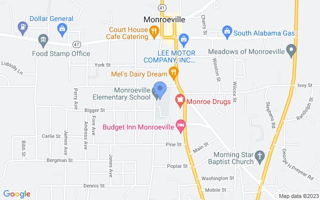297 S Mt Pleasant Ave, Monroeville, AL 36460, USA