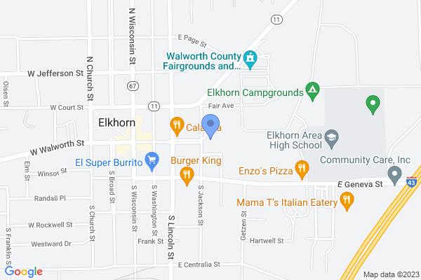 3 N Jackson St, Elkhorn, WI 53121, USA