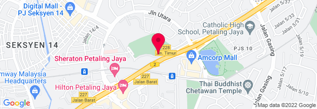 Map for Padang Astaka