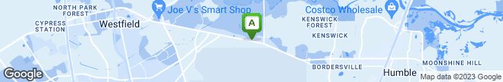 Map of Floyd's Cajun Seafood Restaurant