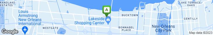 Map of Peppermill Restaurant