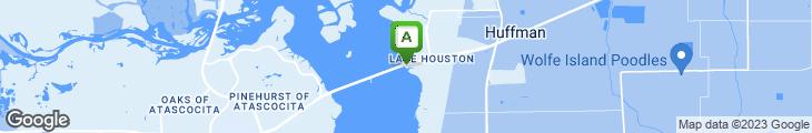 Map of Cedar Landing Marina