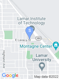 Lamar Tech map