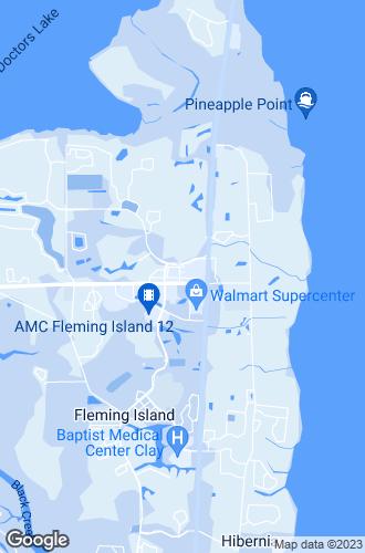 Map of Fleming Island