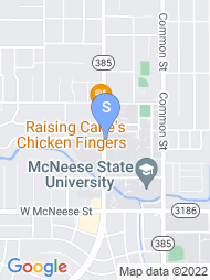 McNeese State University map