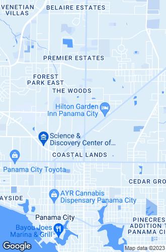 Map of Panama City