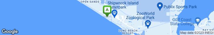 Map of Breakers Restaurant