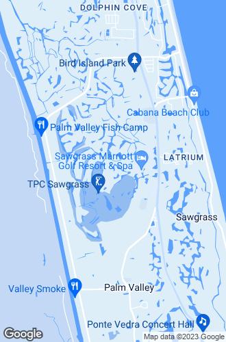 Map of Ponte Vedra Beach