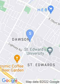 Saint Edwards University map