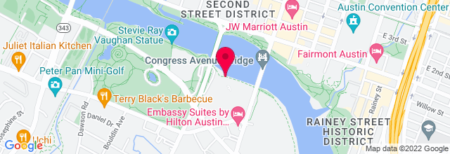 Map for Hyatt Regency Austin