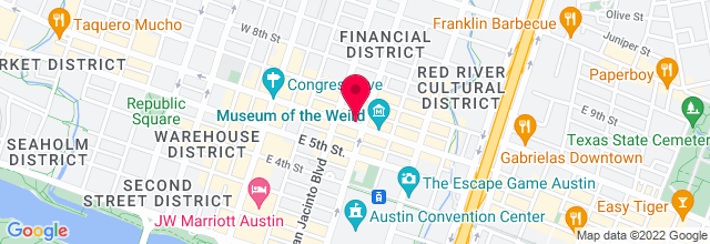 Map for Alamo Drafthouse, Ritz