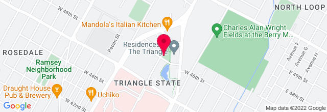 Map for Kick Butt Coffee 2 (The Triangle)