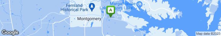 Map of Magnolia Diner