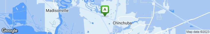 Map of Mandina's Restaurant