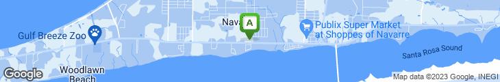 Map of Vinnie R's Italian Restaurant