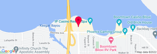 Map for IP Casino, Resort & Spa