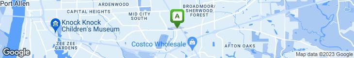 Map of The Jambalaya Shoppe