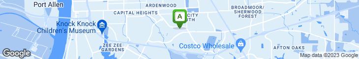 Map of Zea Baton Rouge