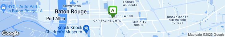 Map of The Jambalaya Shoppe On Governmnet