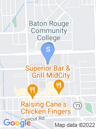 Baton Rouge Community College map