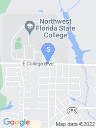 Northwest Florida State College map