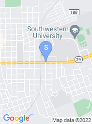 Southwestern University map