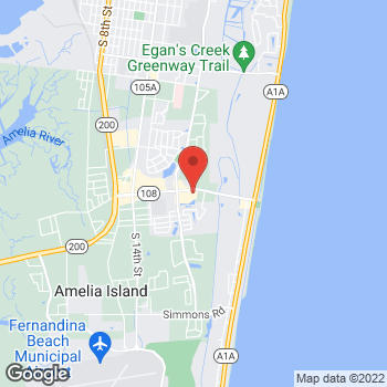 Map of Tuesday Morning at 2146 Sadler Road, Fernandina Beach, FL 32034