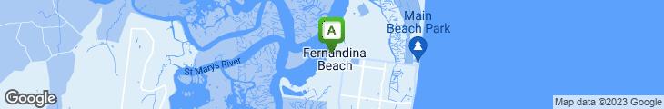 Map of Fernandina's Fudge And Chocolates