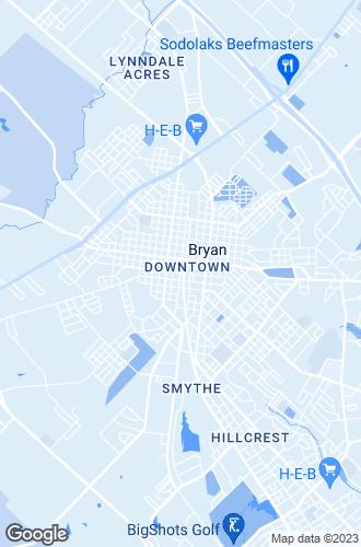 Map of Bryan