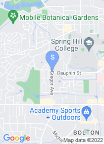 Spring Hill College map