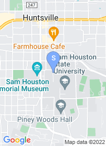 Sam Houston State University map