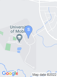 University of Mobile map