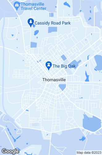 Map of Thomasville