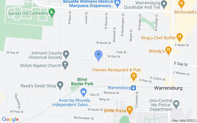 301 W Market St, Warrensburg, MO 64093, USA