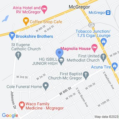 301-321 S Van Buren Ave, McGregor, TX 76657, USA