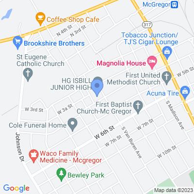 305 S Van Buren Ave, McGregor, TX 76657, USA