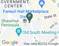 Google Map of 31 State Street, 9th Floor, Boston MA