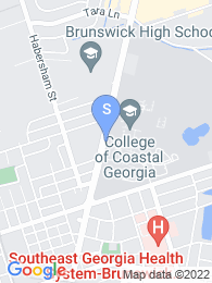 College of Coastal Georgia map