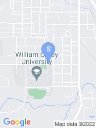 William Carey University map
