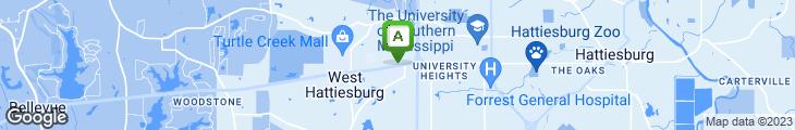 Map of Copeland's