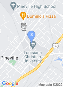 Louisiana College map