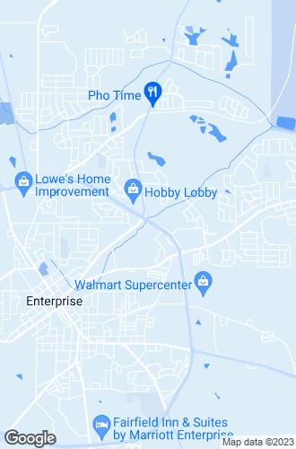 Map of Enterprise