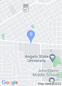 Angelo State University map