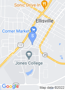 Jones County Junior College map