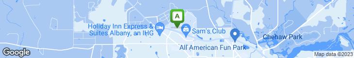 Map of Grand Buffet