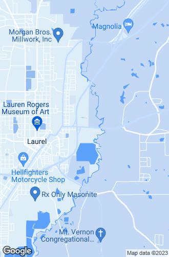 Map of Laurel